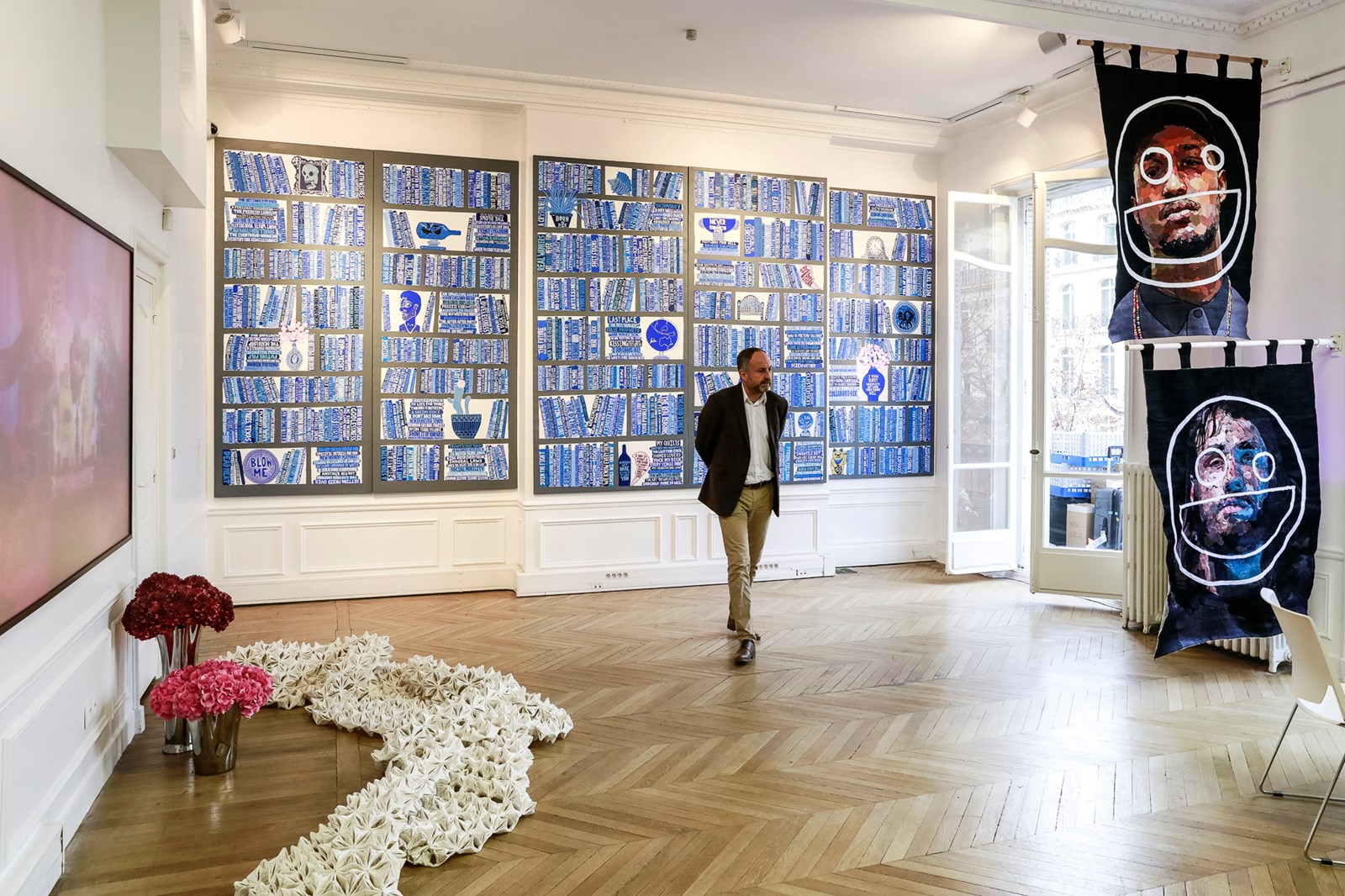 Yavuz Gallery. Courtesy Ocula. Photo Charles Roussel. ASIA NOW 2017