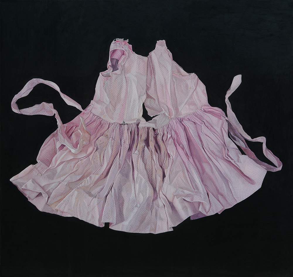 Marina Cruz, Mend me, 2016, Oil on canvas, 190x200cm.jpg