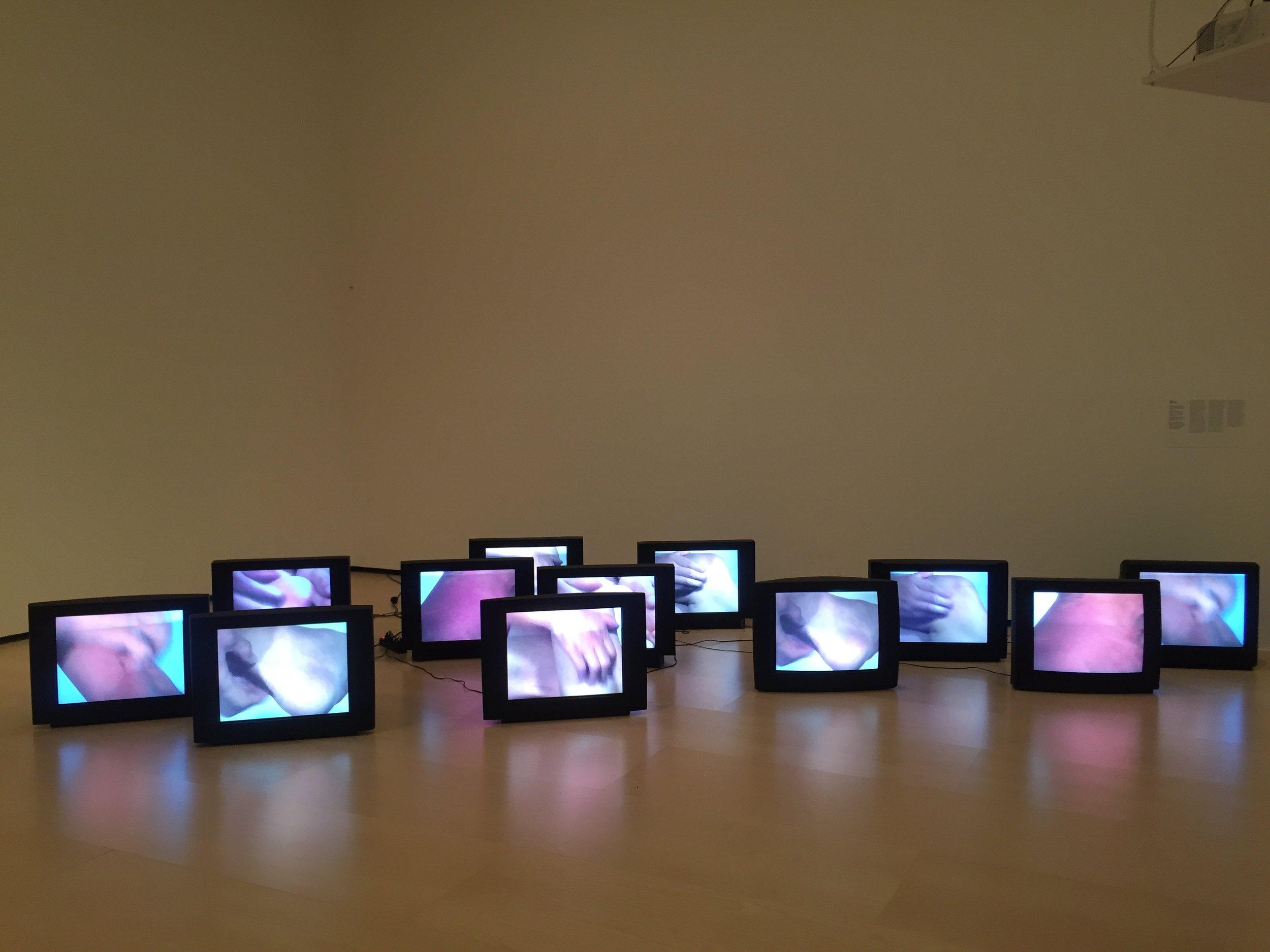 Zhang Peili,  Uncertain Pleasure II , 1996