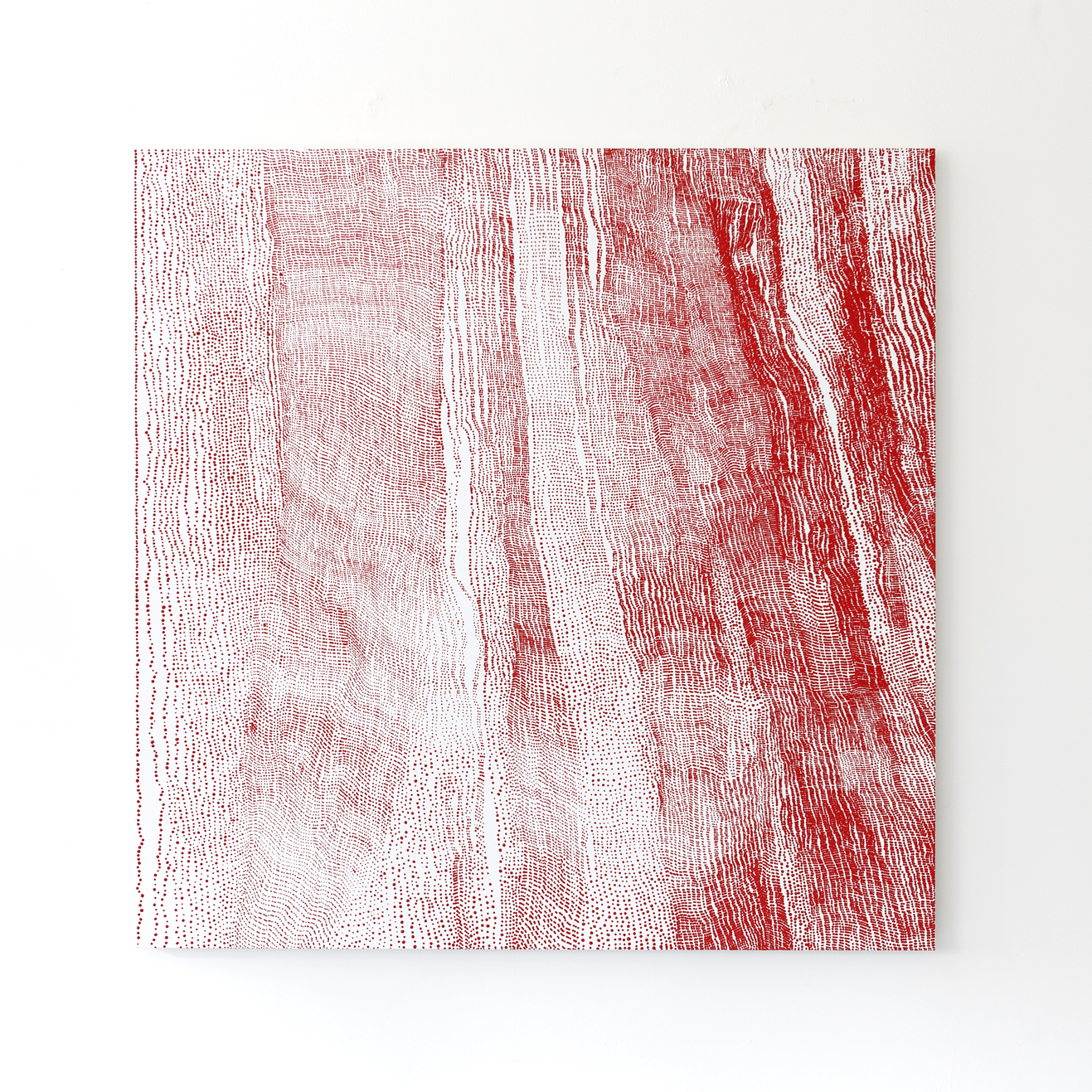 Mio Yamato,  Repetition Red (dot) 23 ,Courtesy of the artist and COHJU Contemporary Art