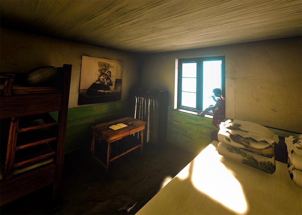 She's Already Gone - Projet de Réalité Virtuelle - She's Already Gonepar l'artiste Yu HongPrésenté par Khora Contemporary