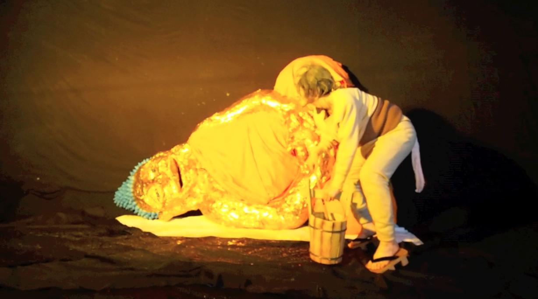 Chiho Hayashi,the Birthday of Dancing Buddha, 2013. Courtesy of the artist.