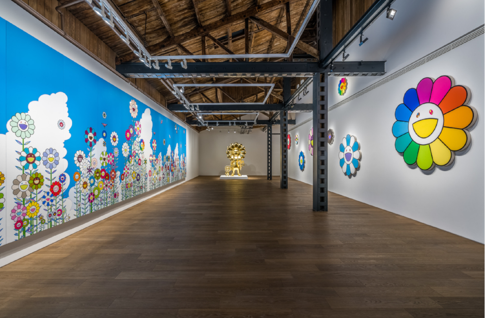 ©2018 Takashi Murakami/Kaikai Kiki Co., Ltd. All Rights Reserved. Courtoisie Perrotin