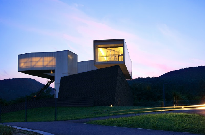 Sifang Art Museum, Nanjing, China, designed by Steven Holl. Courtesy of Sifang Art Museum.