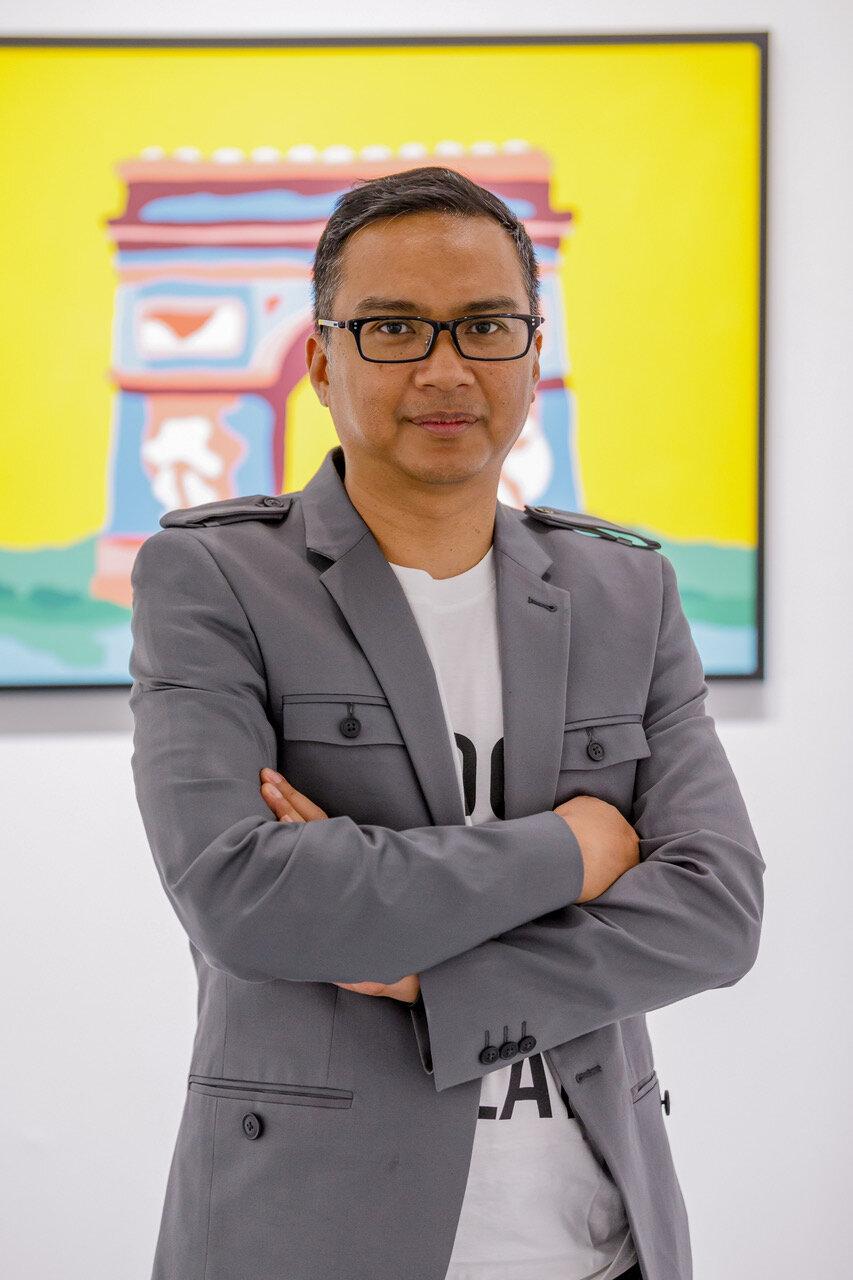 CURATORIAL DIRECTOR & PARTNER OF Chan + Hori Contemporary. Courtesy of Khairuddin Hori.
