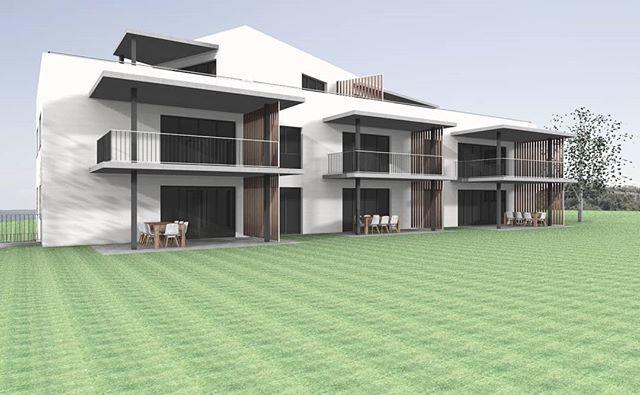 #_planbude_ #architecture #buildings #project #apartmentbuilding