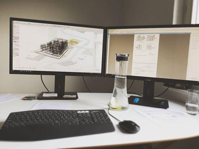 🎼🎶🎶 twerk, twerk, - äh, work, work, work #_planbude_ #architektur #planung #visualisierung #3ddruck