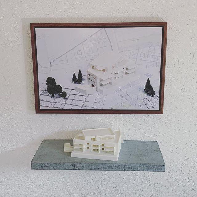 Unsere Bilder sind angekommen 🎉🏠 #planbude #architektur #planung #entwurf #visualisierung #3ddruck #office #headquarter