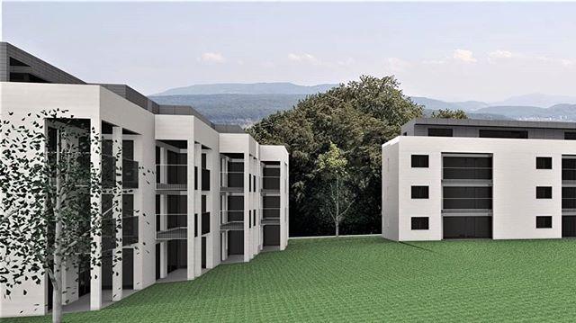 Wohnüberbauung Breitgarten im Solothurn - 38 Wohnungen; Einstellhalle mit 59 Parkplätzen  Lange ist es her, seit wir uns auf Insta haben blicken lassen. Dafür haben wir in der Zwischenzeit viel getan und können euch über den Sommer einige neue Projekte vorstellen.  #planbude #architektur #planung #beratung #entwurf #3ddruck #visualisierung