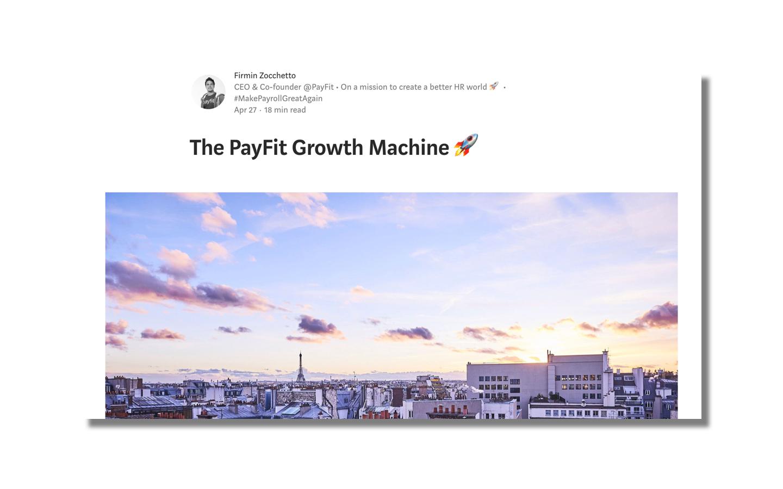 Des dizaines d'exemples sales et business development tirés d'entreprises et startups de la Tech