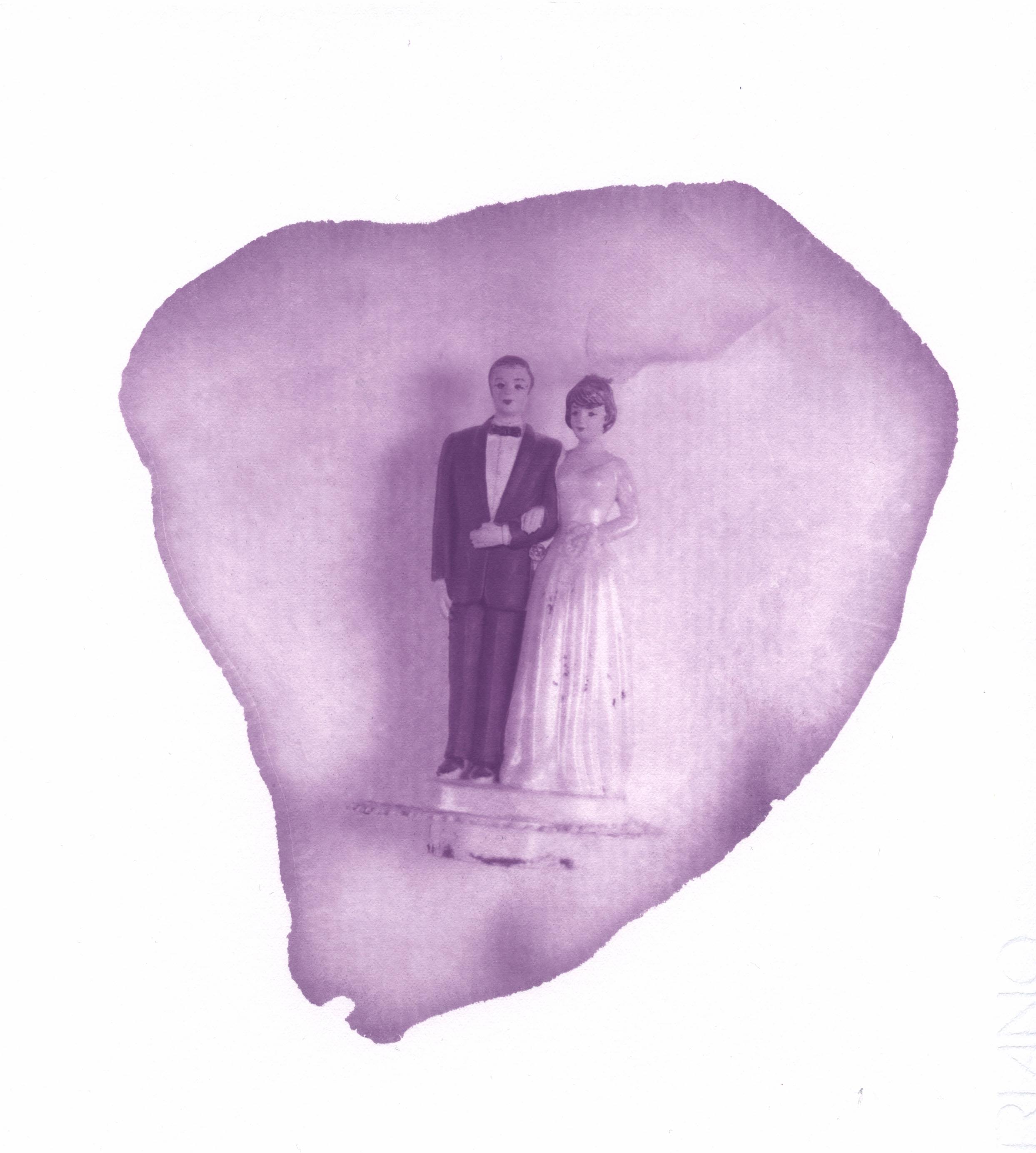 Les jeunes mariés Sallaumines novembre 2017