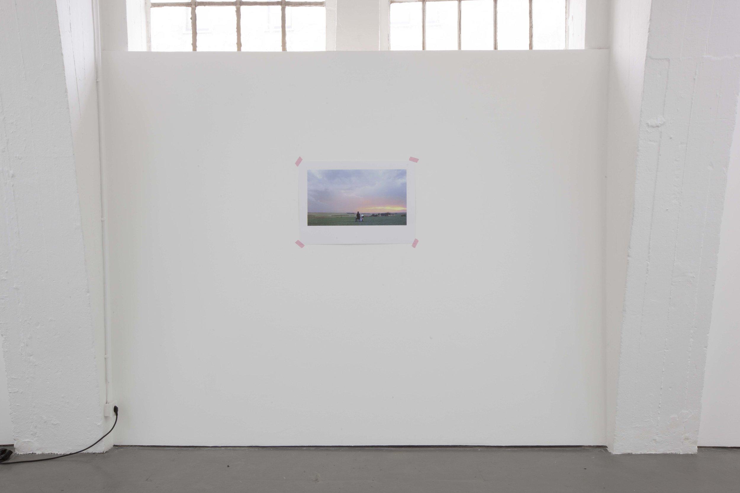 "Amy Ball: ""Thunder Bang Bang Lightning p.I"", 2014 Four Color Screen Print on Paper 50 x 70 cm"