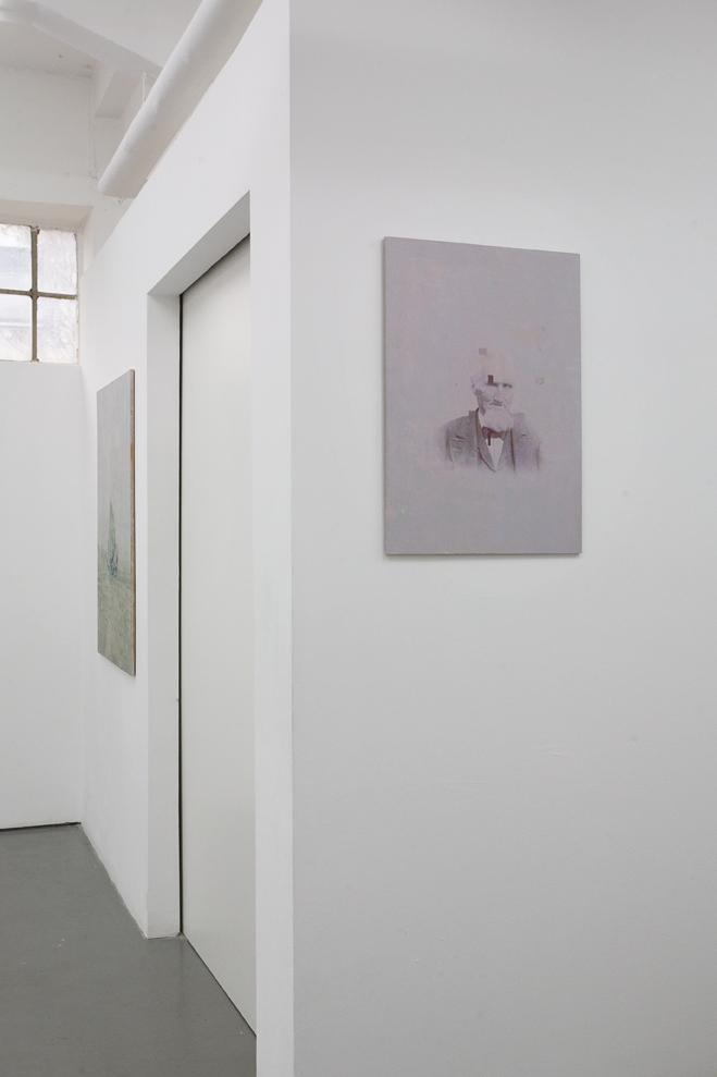 """Marcus Gundling: """"Pool"""", 2010, Exhibition views Galerie Parisa Kind"""