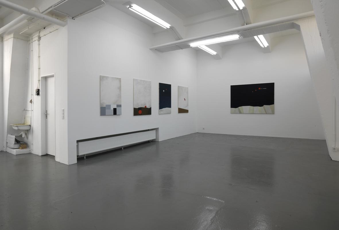 """Martin Neumaier:  """"Ladies and gentlemen, now I know """", 2007, Exhibition views Galerie Parisa Kind, Frankfurt am Main"""
