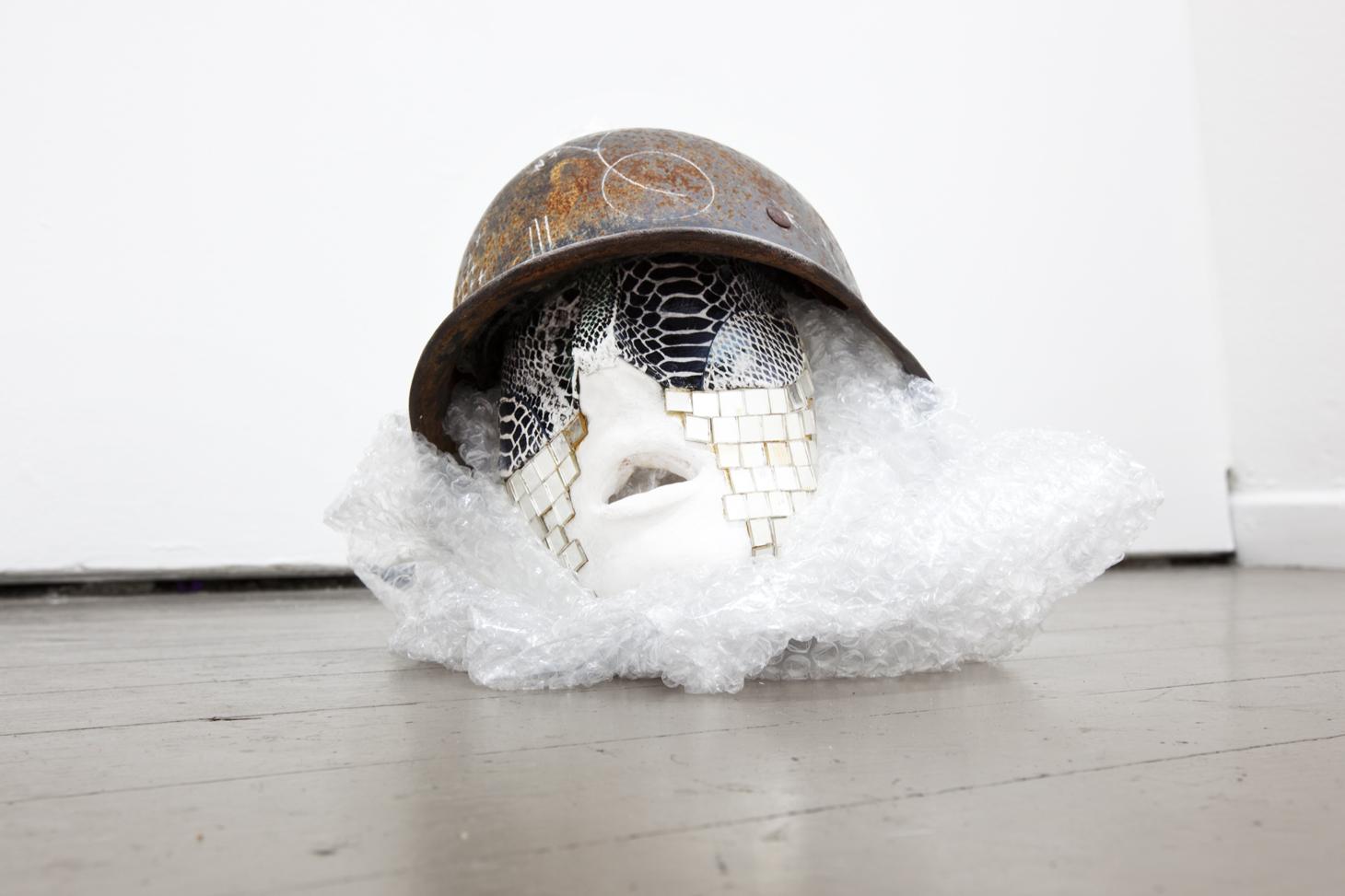 "Nina Tobien: ""META((M))"", 2012, Exhibition views Deuxième Bureau: Galerie Parisa Kind, Frankfurt am Main"