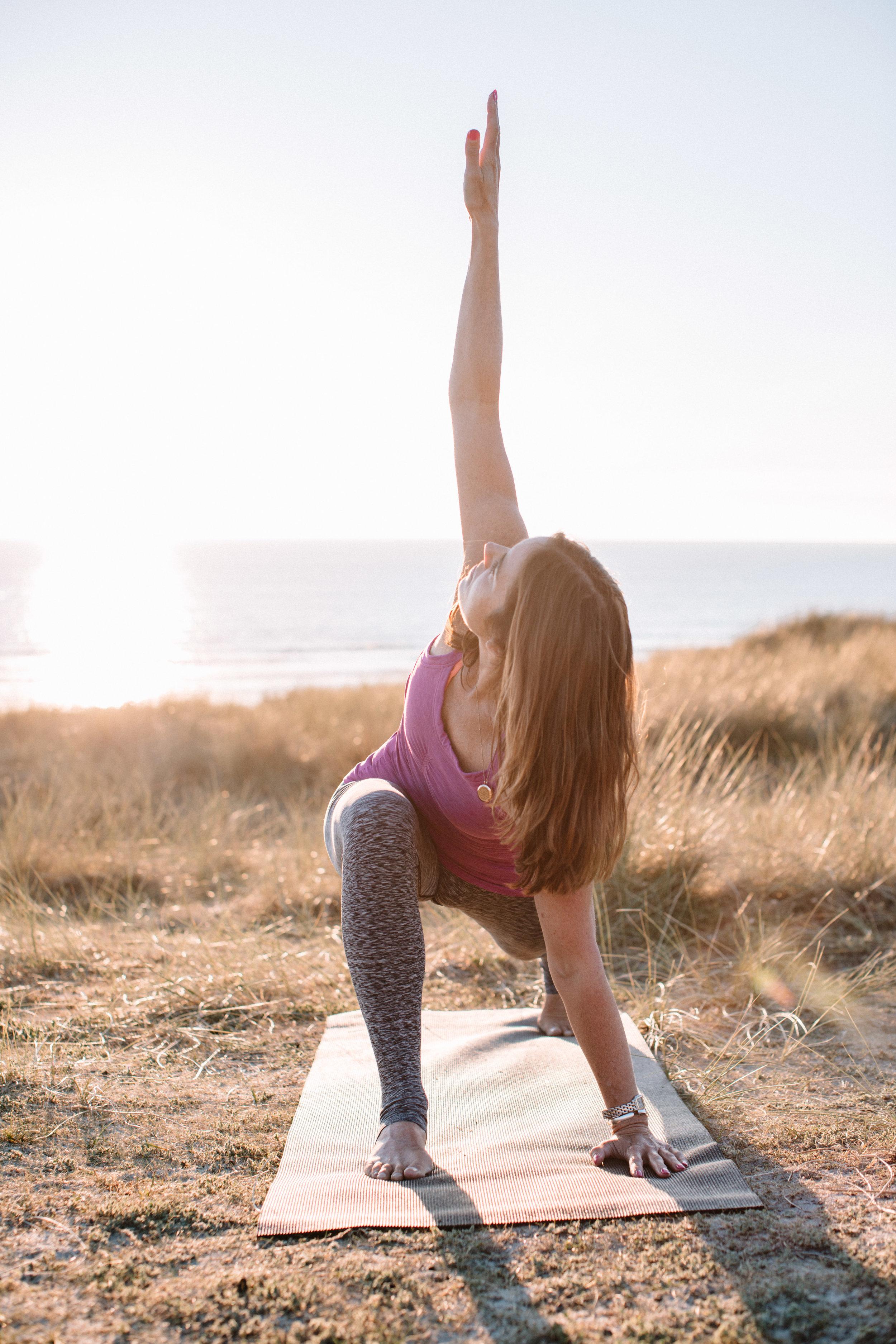 Amanda Cassar yoga and lifestyle , spiritual yoga teacher jersey yoga