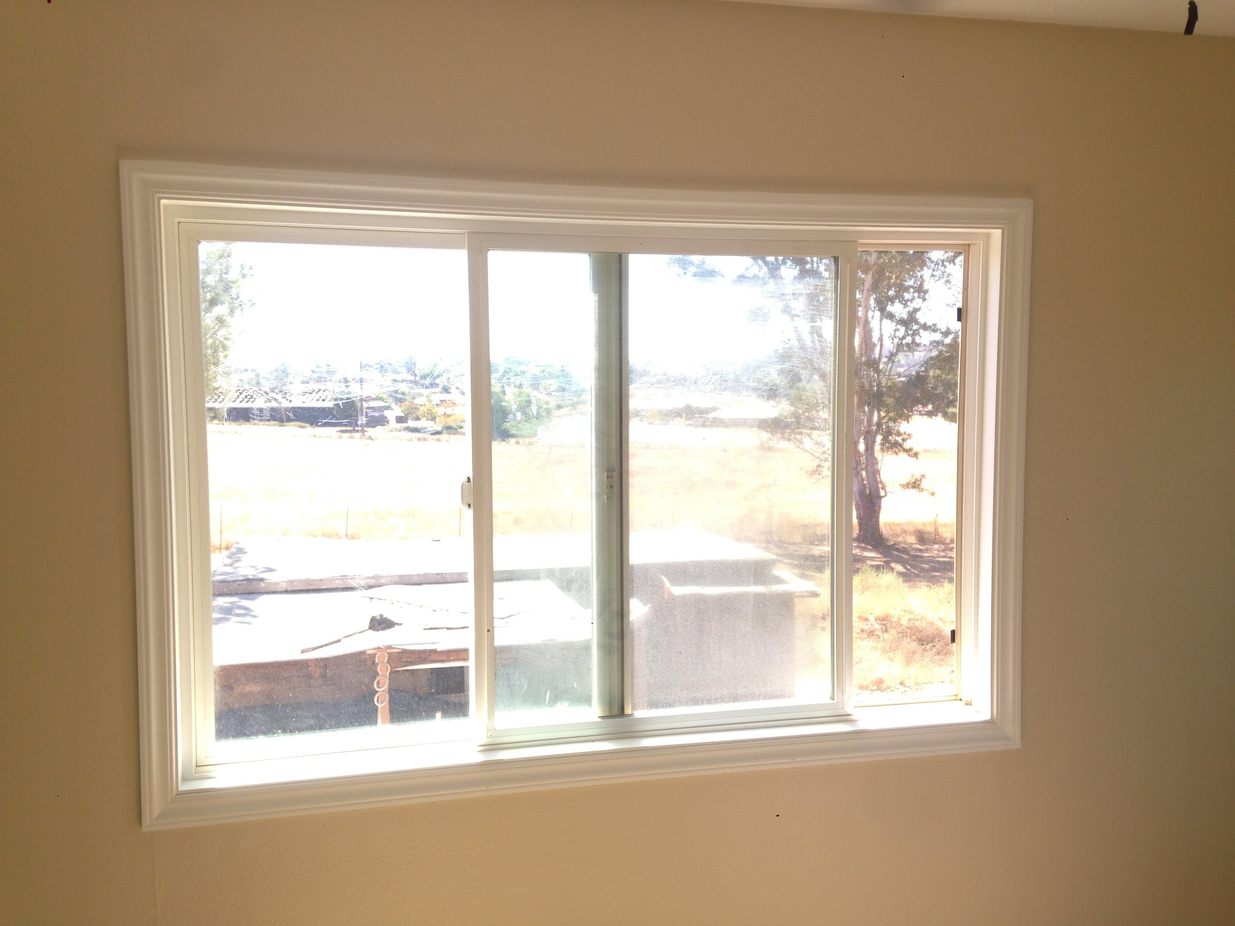 After - New Window and Molding