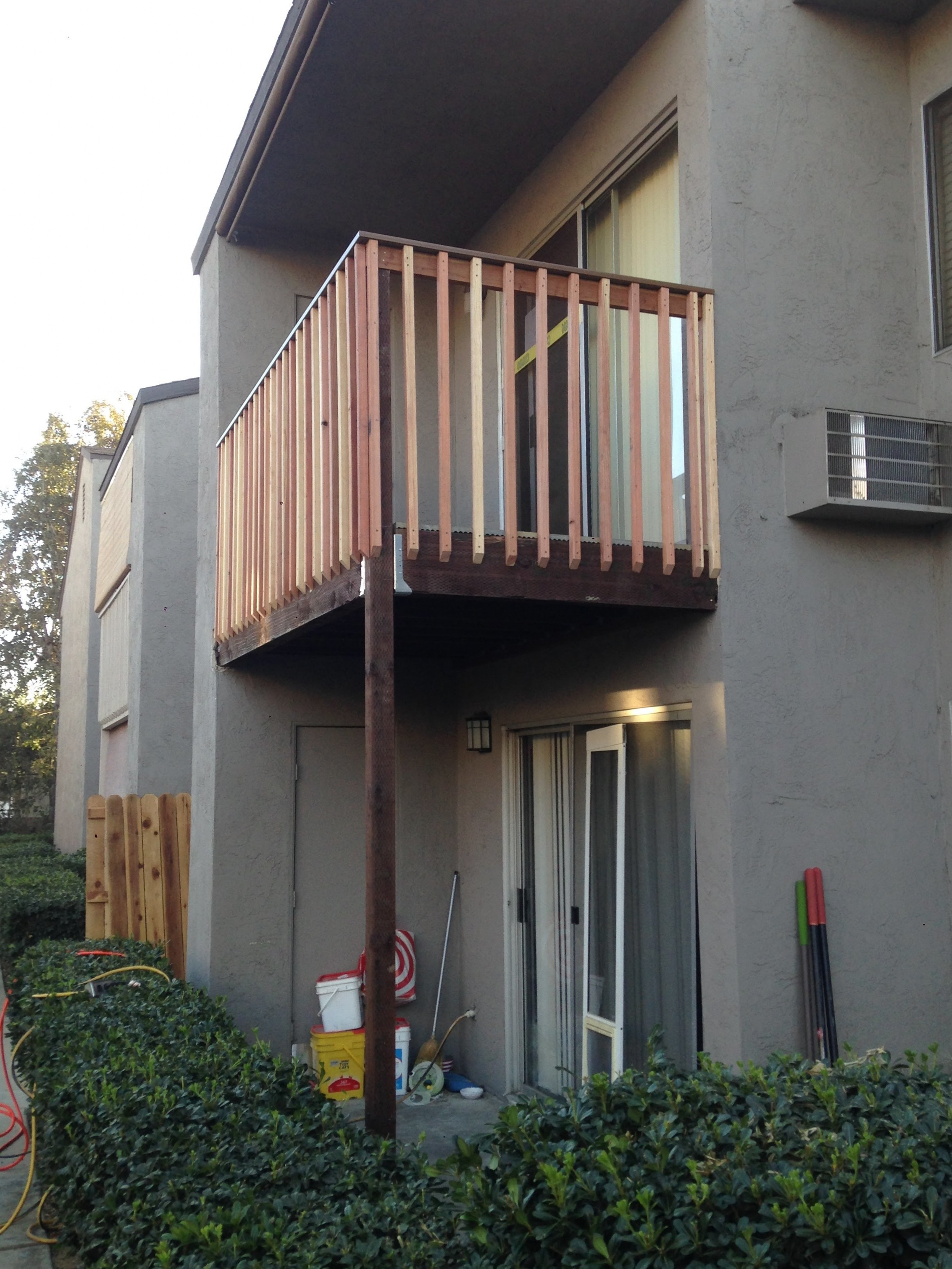 Finished - Balcony Replacement