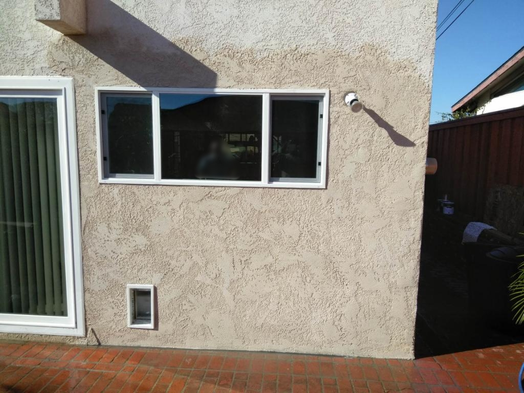 After - Finished Wall and Window