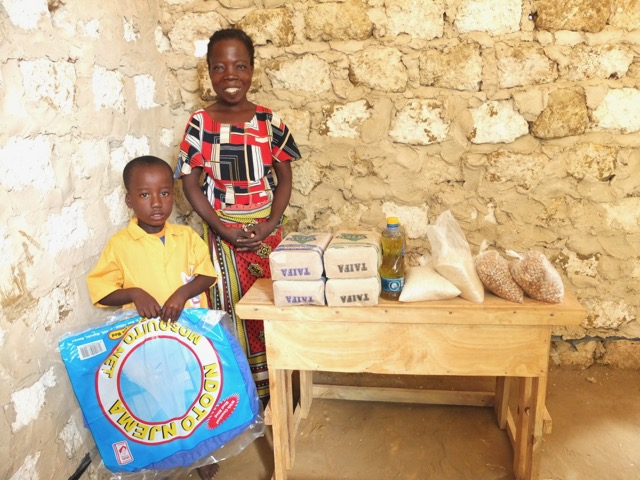 Food Parcels and mosquito nets can be a lifeline to families who need them.