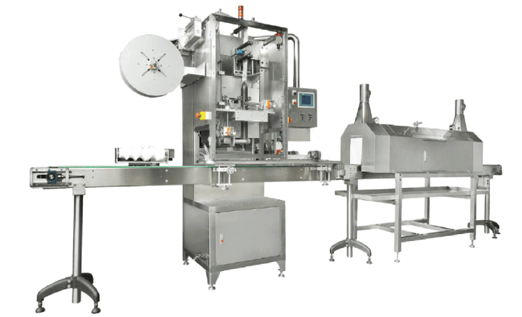 Heat Shrink Labeling Equipment For Applying Shrink Sleeves, Bands, and Multi-Packs