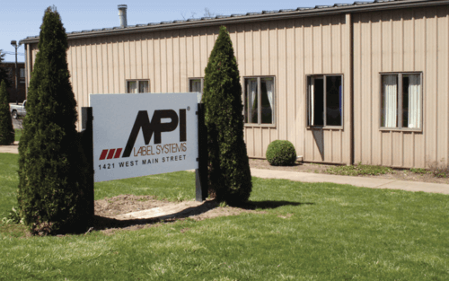 MPI Label Systems Equipment and RFID Division in Alliance, Ohio