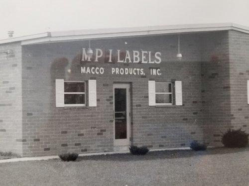 MPI Label Systems Original Location