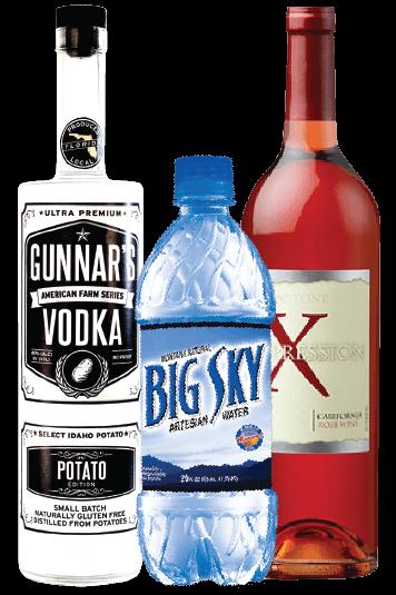 Drink Bottle Labels for Liquor, Water, Soda Pop, Wine