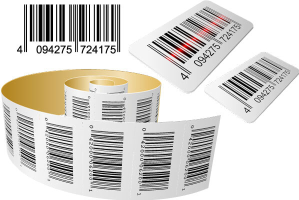 UPC Barcode Labels