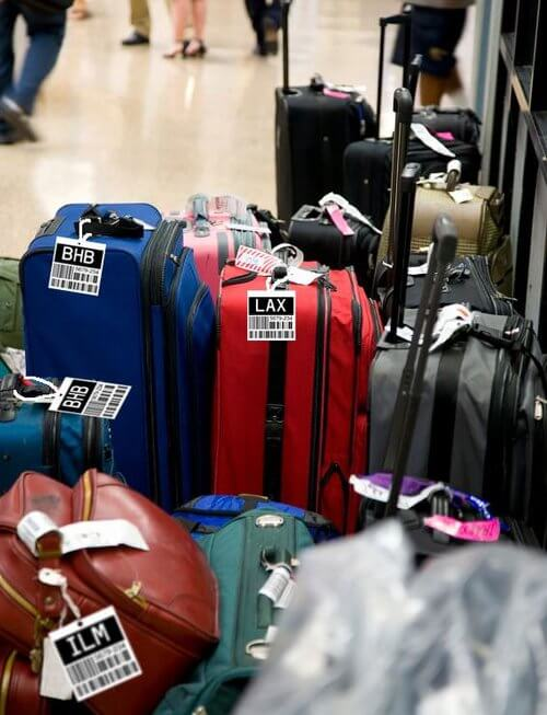 RFID Tags on Luggage for Monitoring and Tracking
