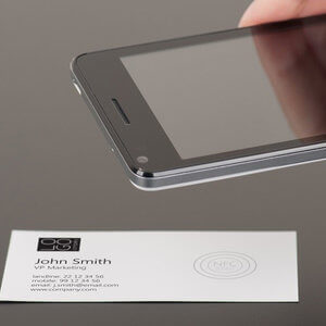 NFC Tag for Business Cards