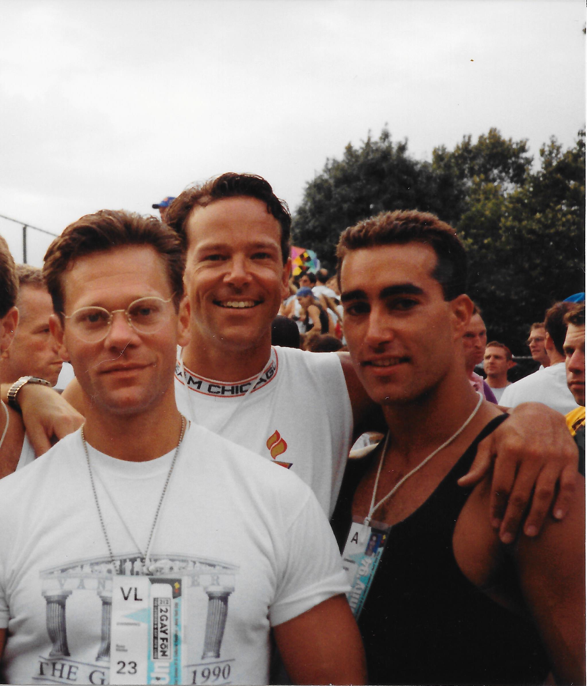 1994 Gay Games IV - Russ Klettke, Tom Ernsting, Seth Hoff
