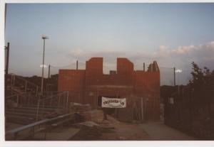 Blair Stadium Construction (2003)