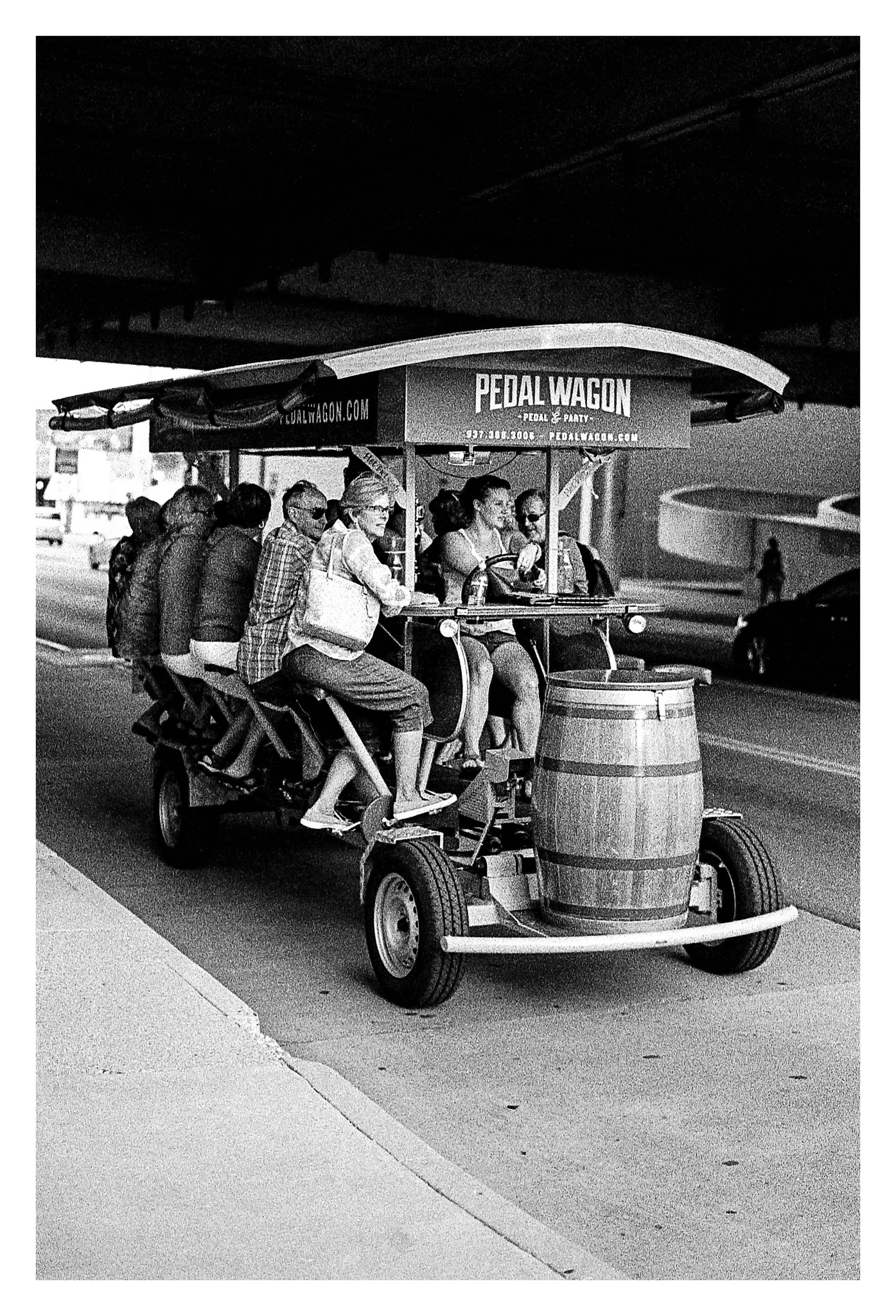 The Pedal Wagon - Nikon F5 with 50mm f/1.4 lens at f/2.8 in A-Priority mode on Kodak TMAX P3200 film