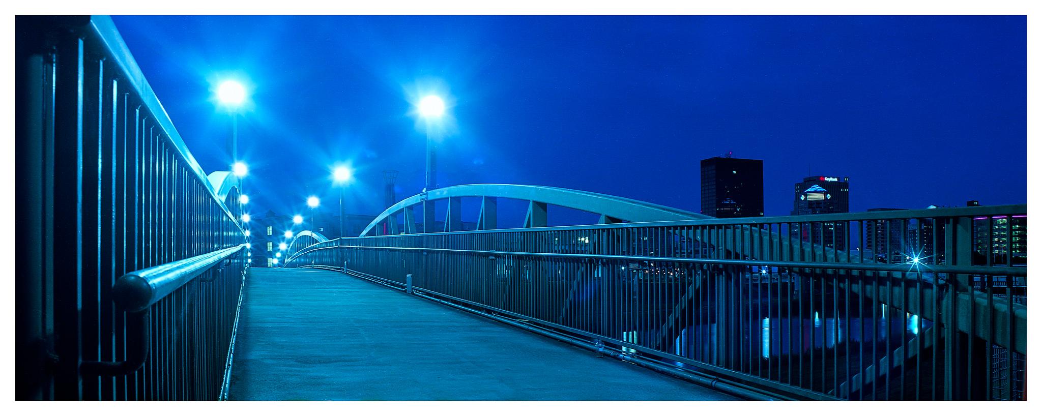 Bridge to Dayton - Mamiya RB67 ProS with Ektar 35mm film
