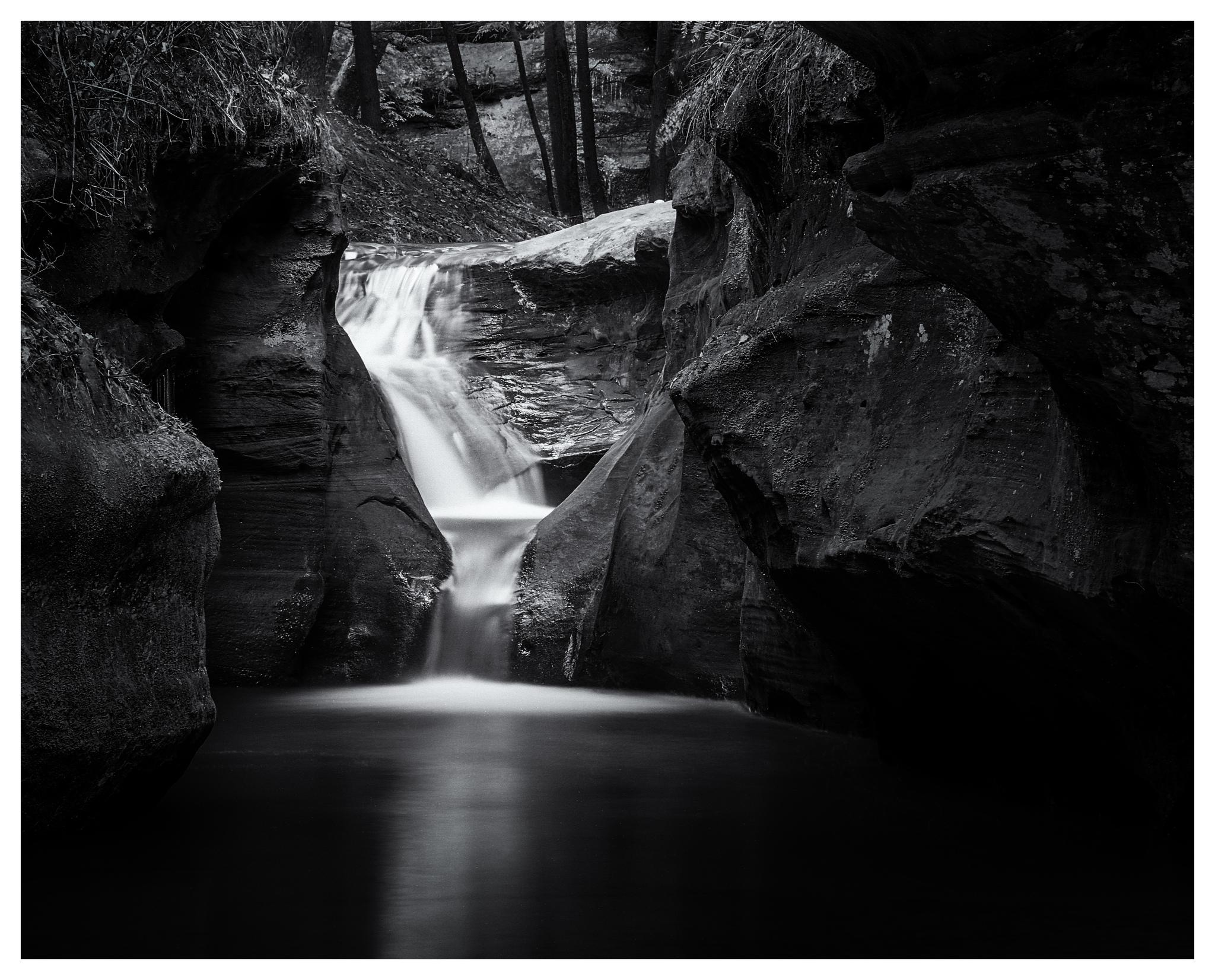 """Below the """"Devil's Bathtub"""" - Mamiya RB67 w/250mm lens on HP5+"""