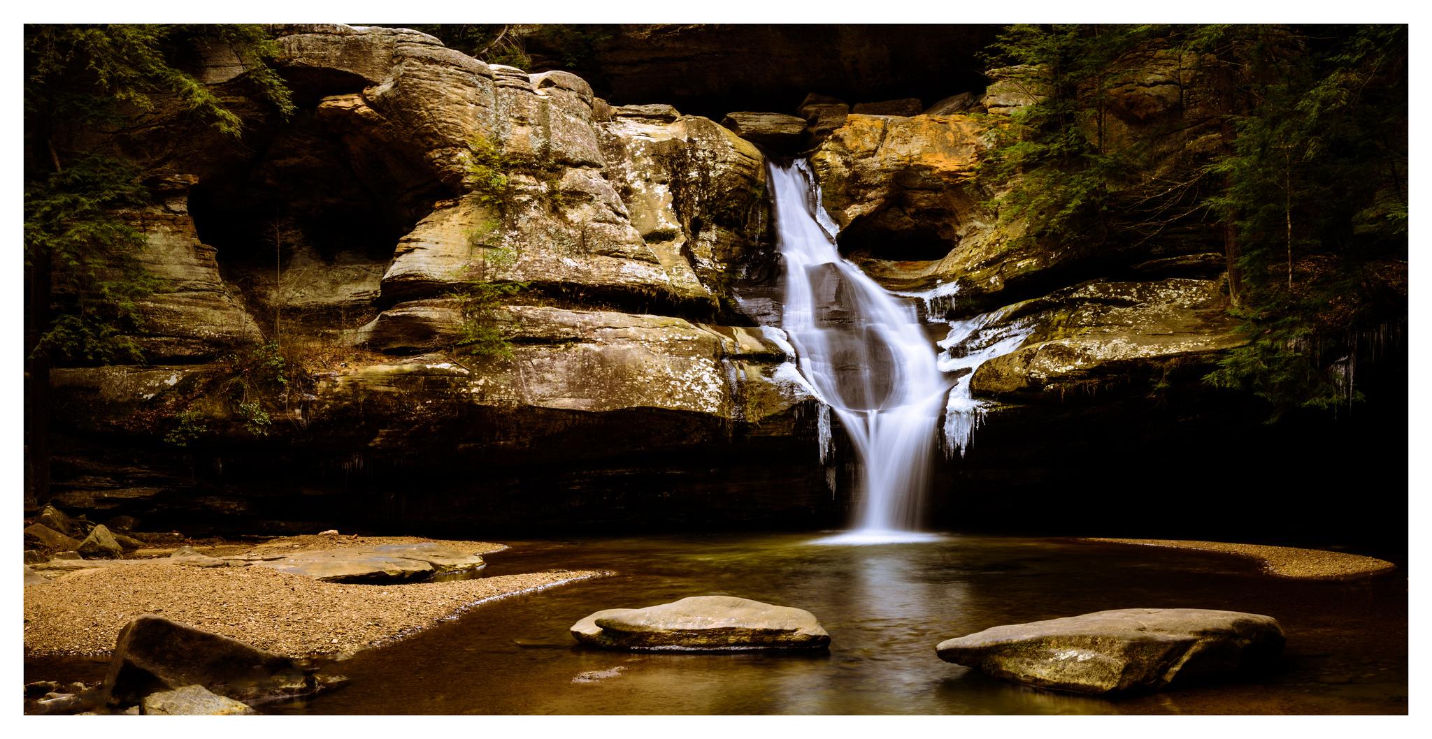 Cedar Falls - Multi-Image Pano Stich - Nikon D750