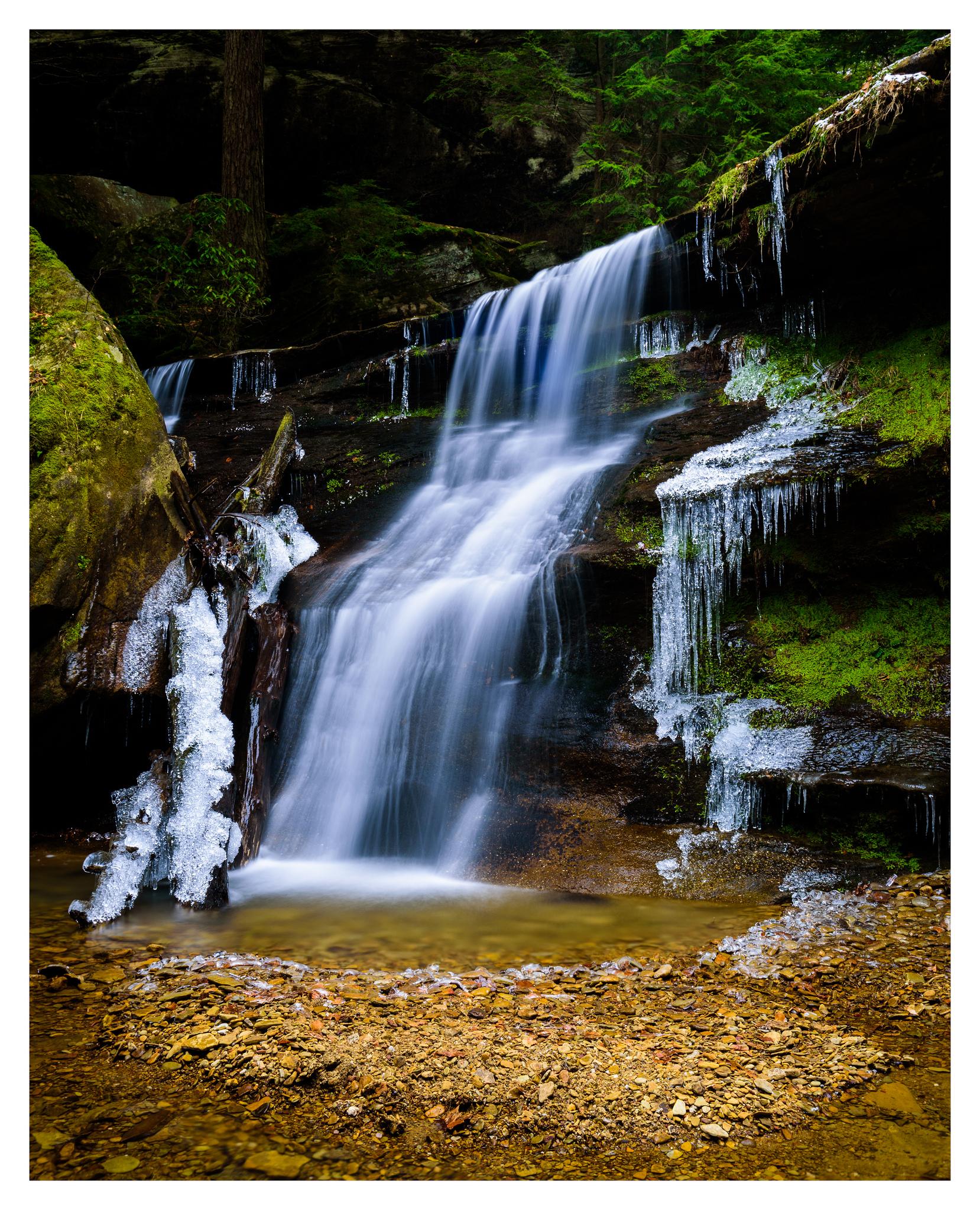 """Hidden Falls"" near Cedar Falls - Nikon D750"