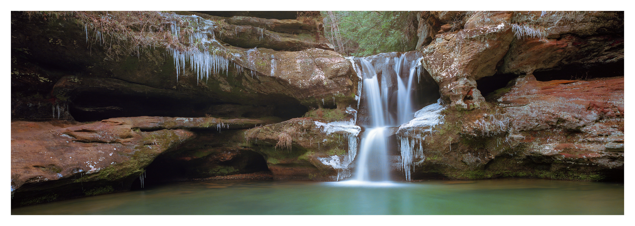 Upper Falls - Fuji GX617 w/105mm lens on Ektar 100 film