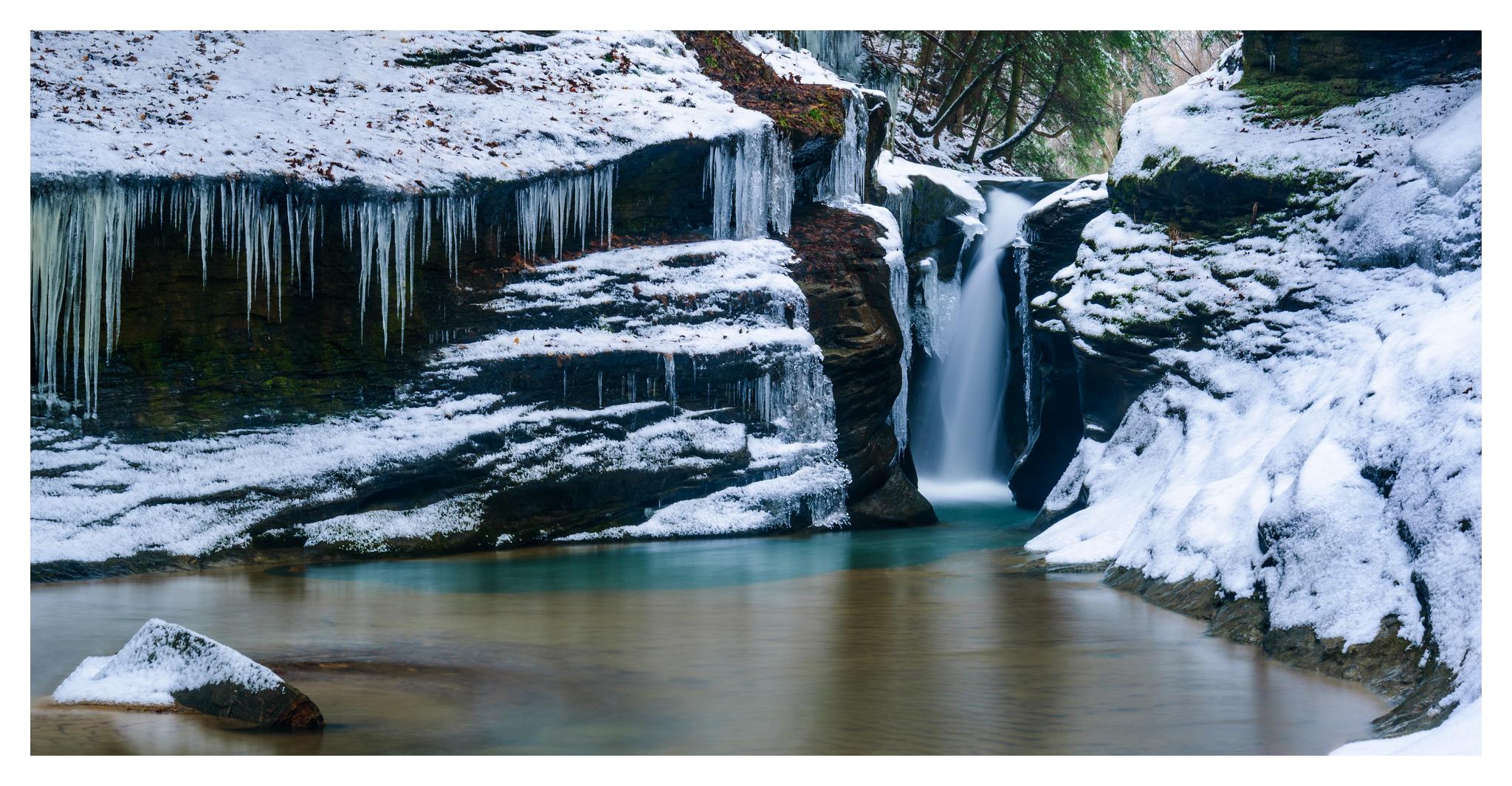 Robinson Falls in Boch Hollow - Digital Pano Stitch