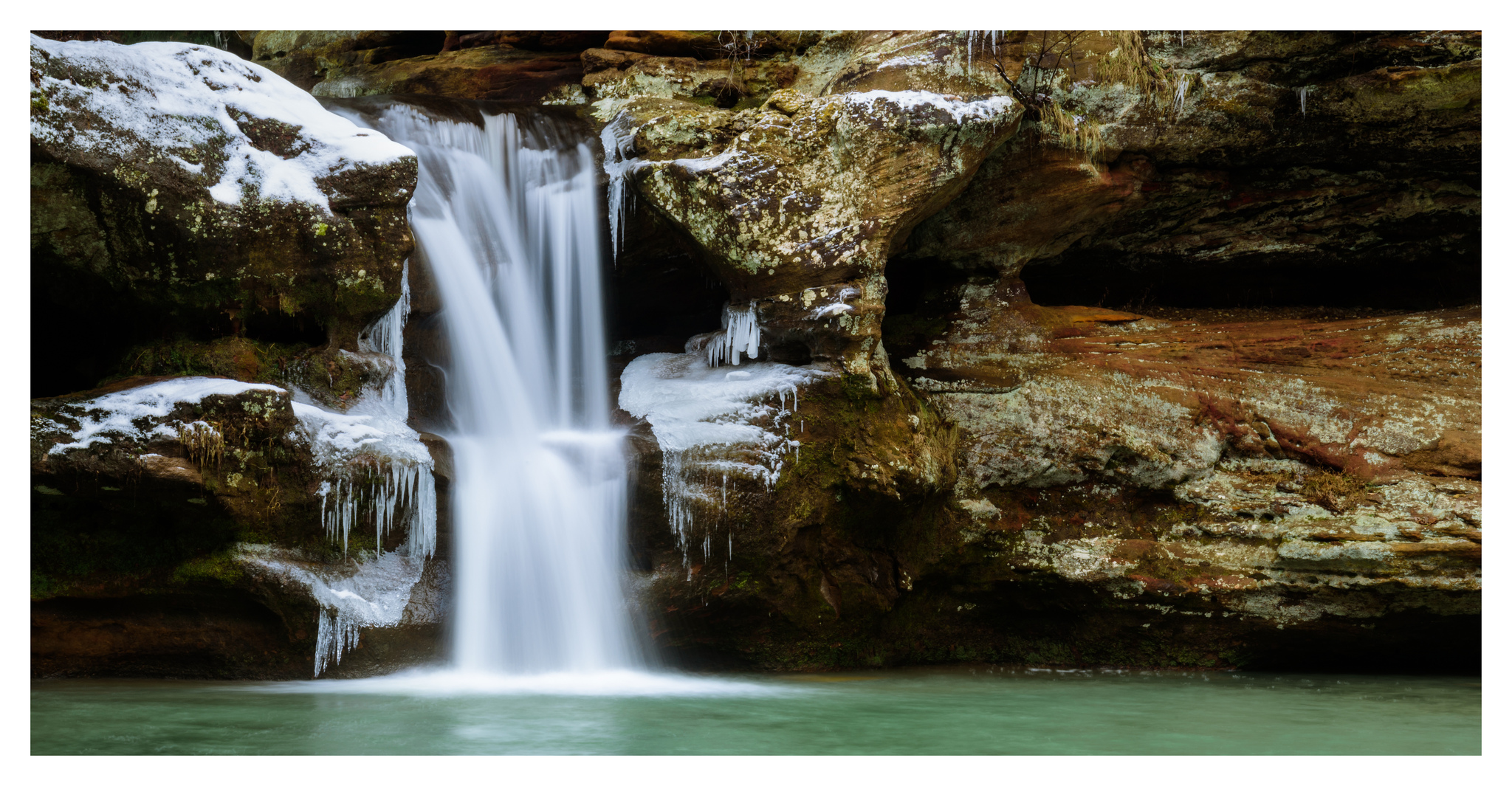 Upper Falls - Digital Pano Stitch