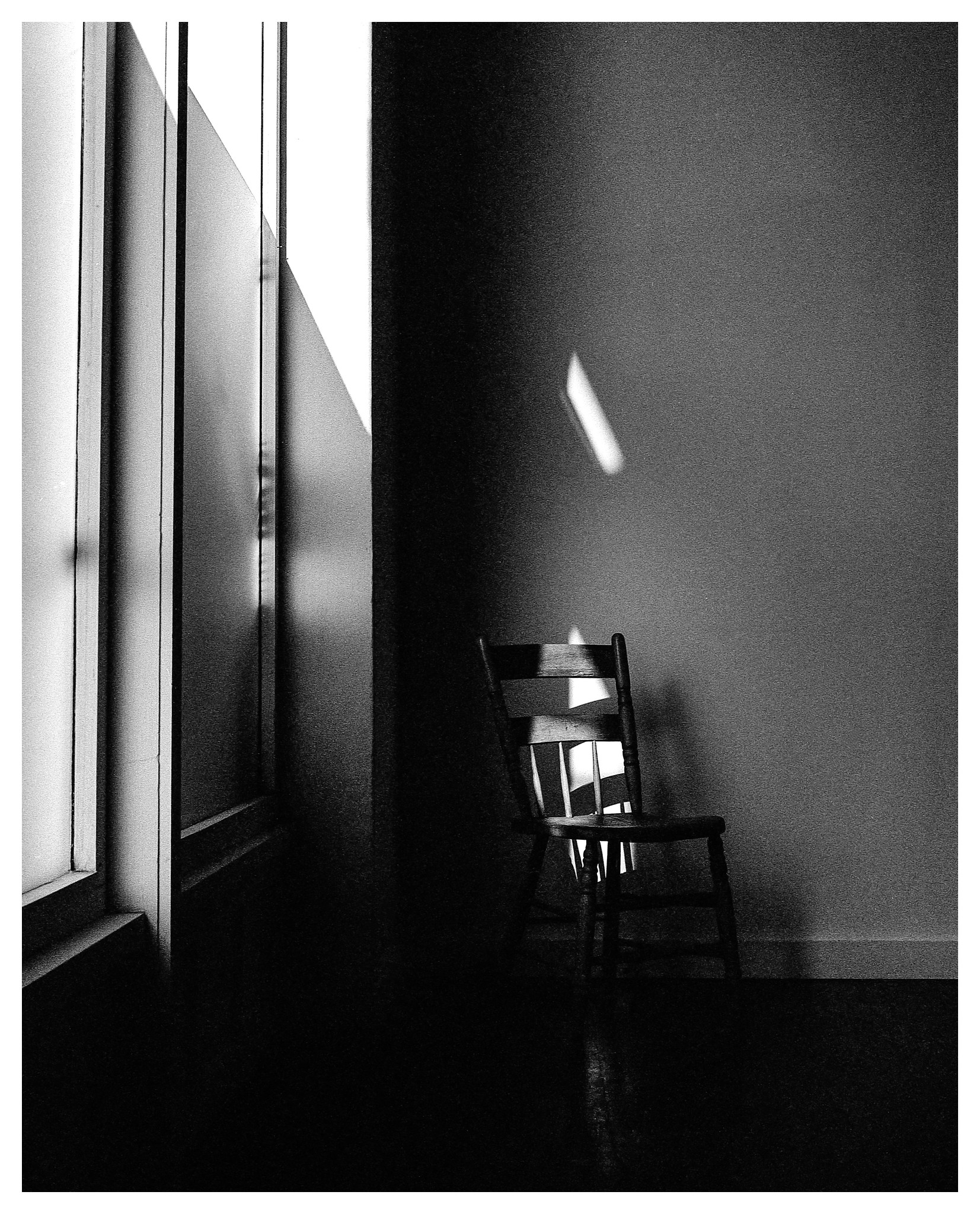 In addition to being a sucker for lone tree images, I also love lone chair images. This was in the Carrs' studio and the light coming thru the window drew me in. To me this scene was a stark contrast to all of the activity going on outside and throughout the rest of the city.