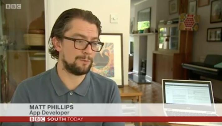 Watch:  BBC South Today, September 6, 2018