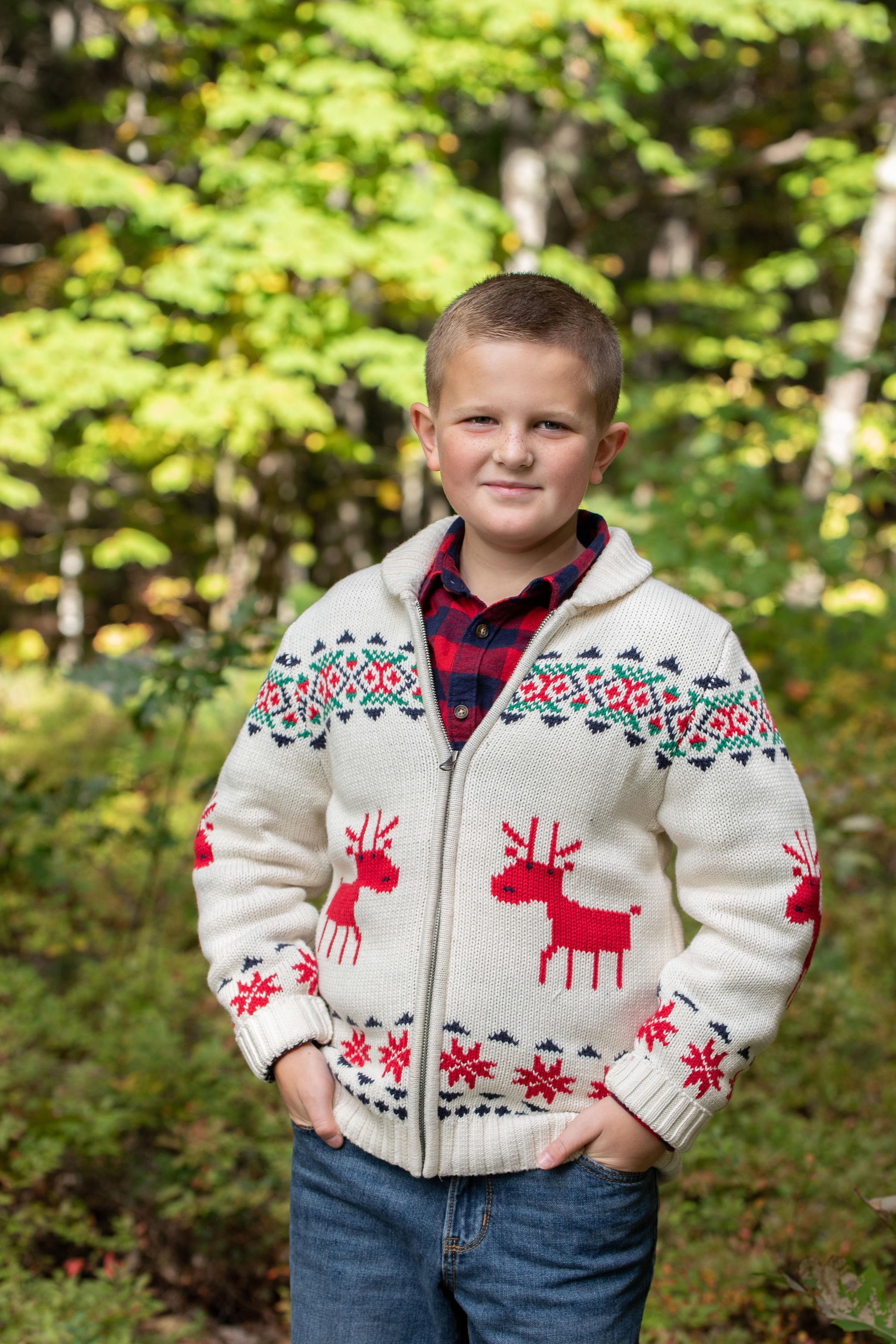 Michael Ahern, age 8.