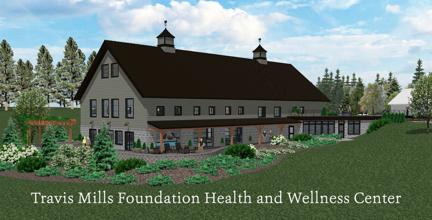 Health and Wellness Center - Learn more about the upcoming expansion of the Travis Mills Foundation with the addition of our Health and Wellness Center set to break ground in Fall of 2020.