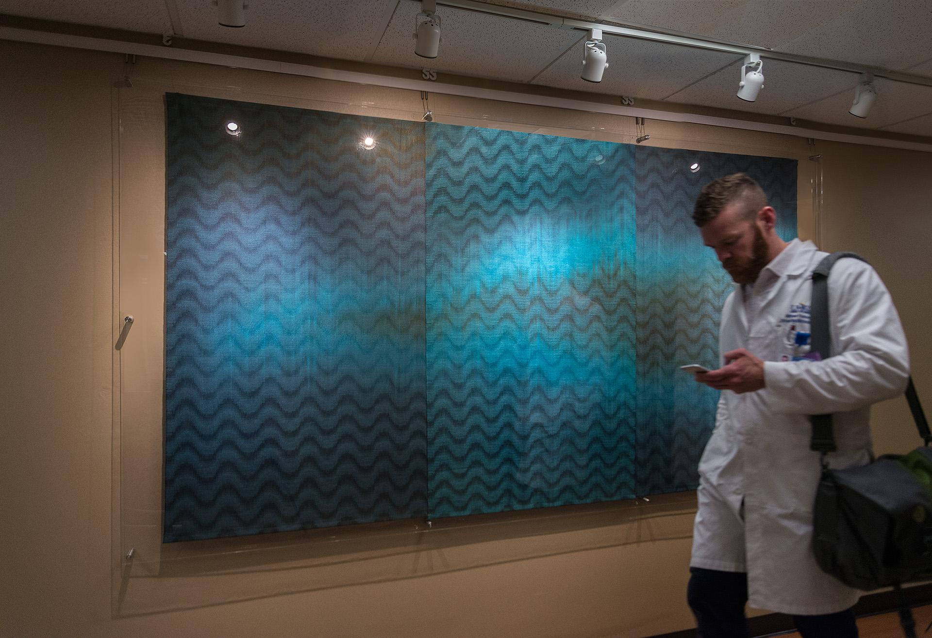 Aqua Interruptions  Truman Medical Center  Photo credit: Eg Schempf