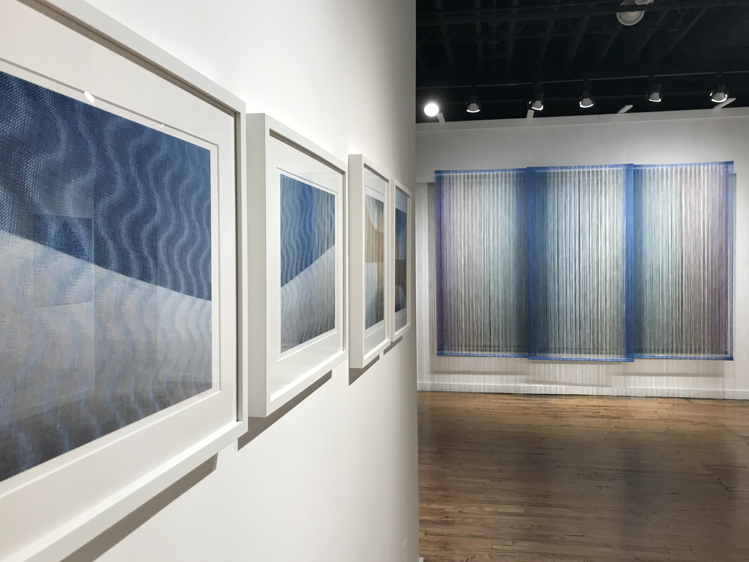 Woven; Soft, Hard and Repeat by Debbie Barrett-Jones   Leedy-Voulkos Art Center   Kansas City, MO