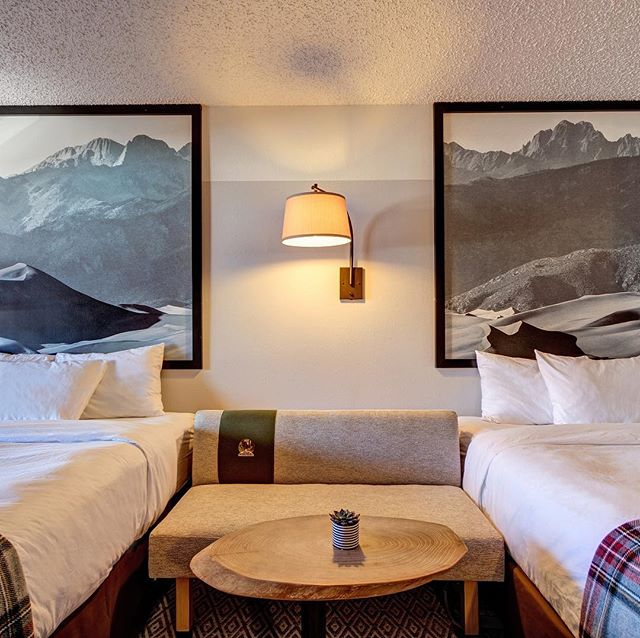 Bring a friend! We have accommodations with one, two or three beds. #friendcation #grouptravel #travelbuddy #themorethemerrier #familytravel #doubledouble #familygoals #familyfriendlytravel #salidacolorado #mountainbike #lastminutetravel #roadtrip #mountainlodge #naturelovers #travelcouplegoals