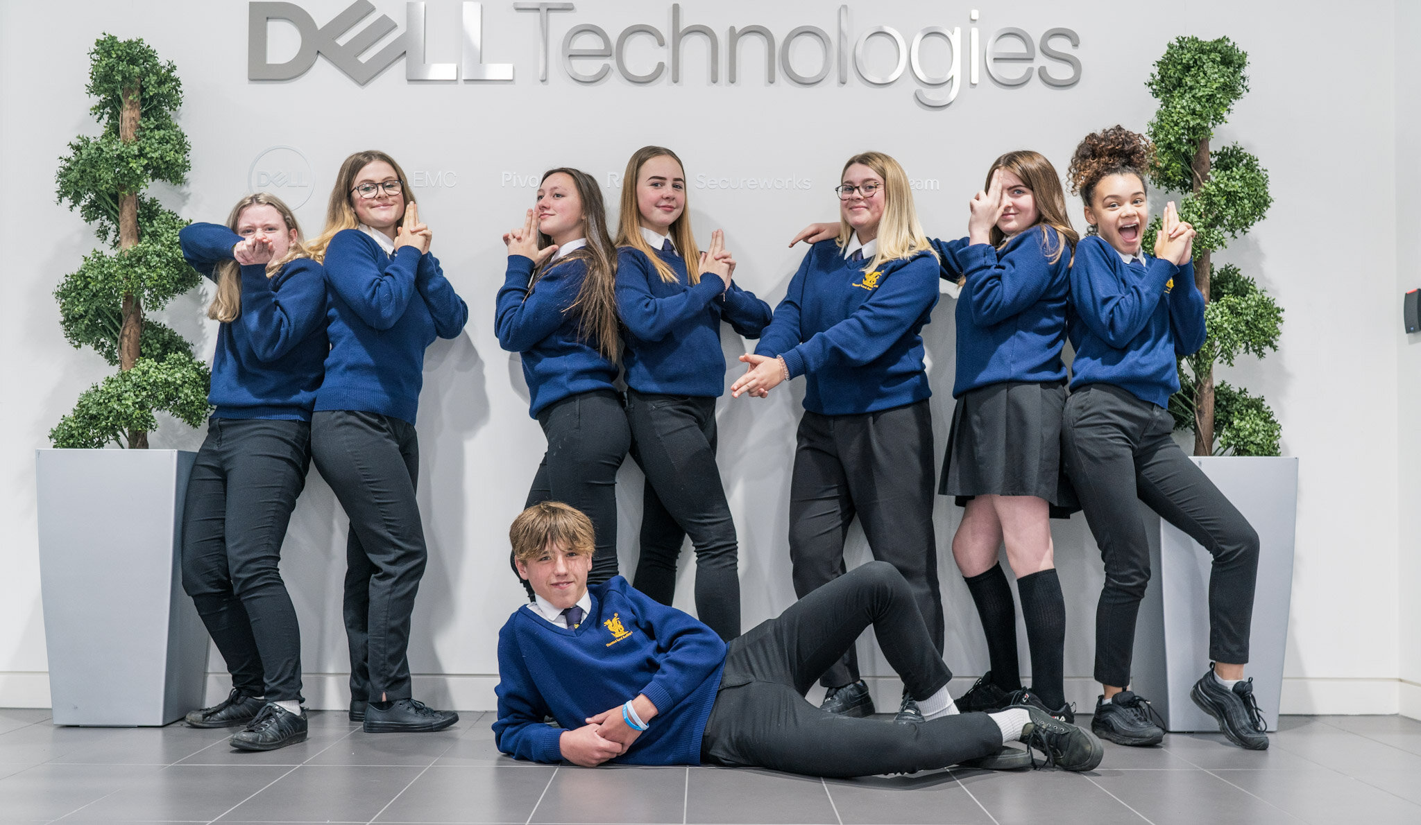 """Regional Winners at Dell Development Day - Well done to the """"Let's Focus"""" Team at Thomas Lord Audley School in Colchester for their winning idea at our Powering Transformation Extension day! There was some fantastic feedback from the Dell employees at the Workshop.Check out the full article: https://www.gazette-news.co.uk/news/17998196.focus-victory-hi-tech-competition/"""