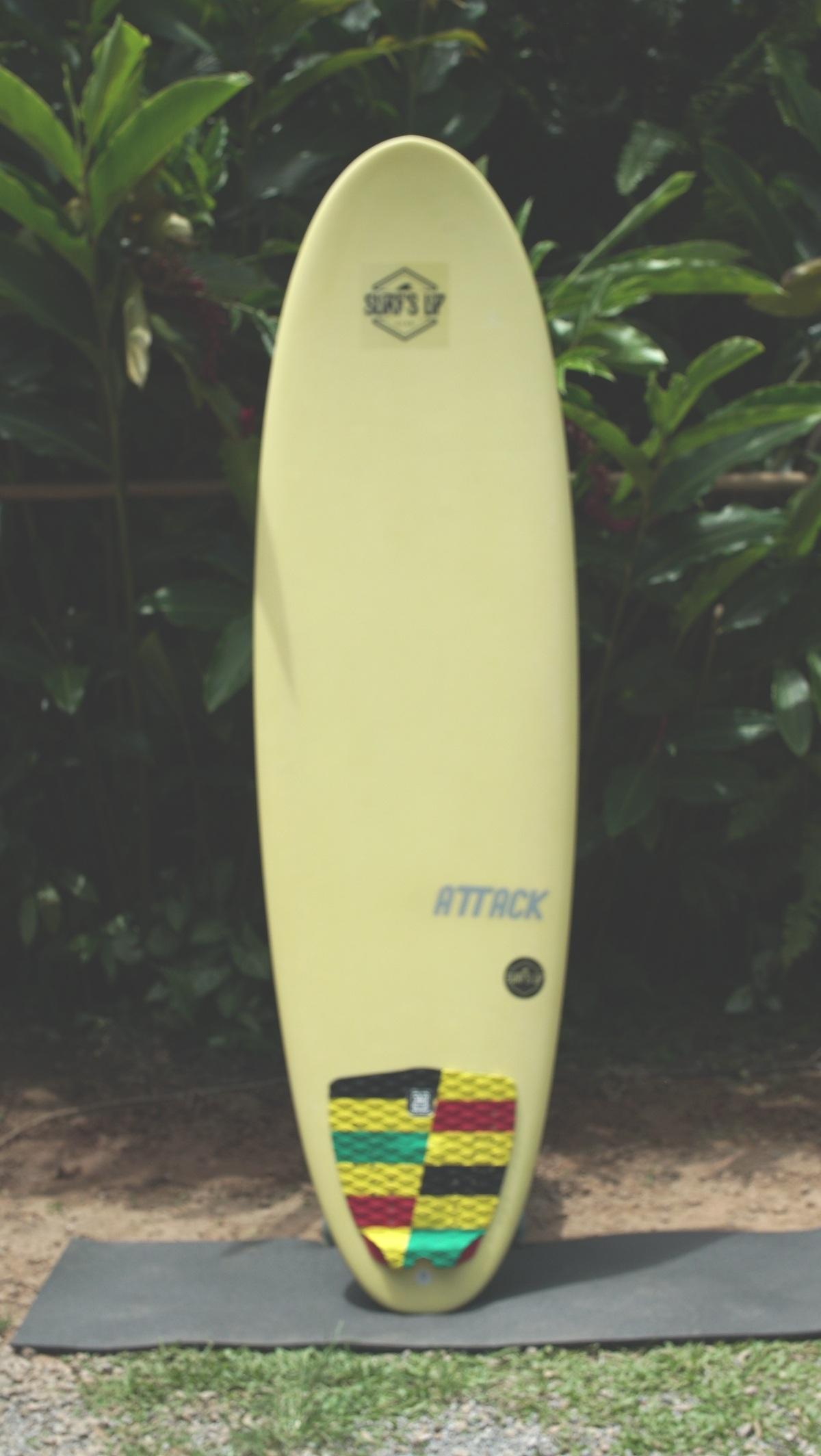 Surfácil 6'6 - Attack6'6